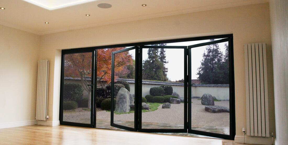 air bi-folding doors