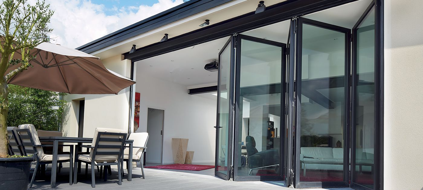 Reynaers Aluminium Bi Folding Doors Surrey Sliding Doors