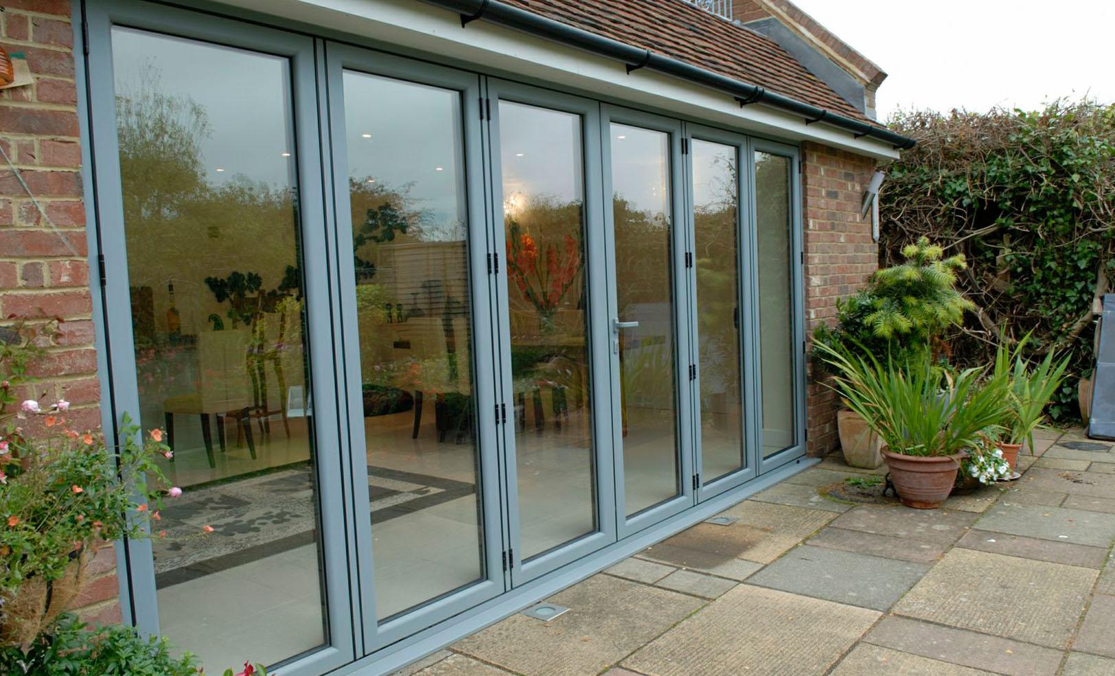 aluminium doors surrey & Concertina Doors Surrey   Aluminium Bi-Fold Doors Surrey