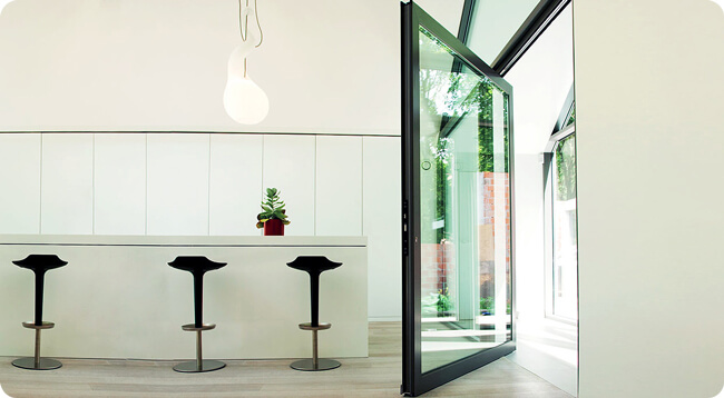 Air Aluminium Bi-Folding Doors Guildford