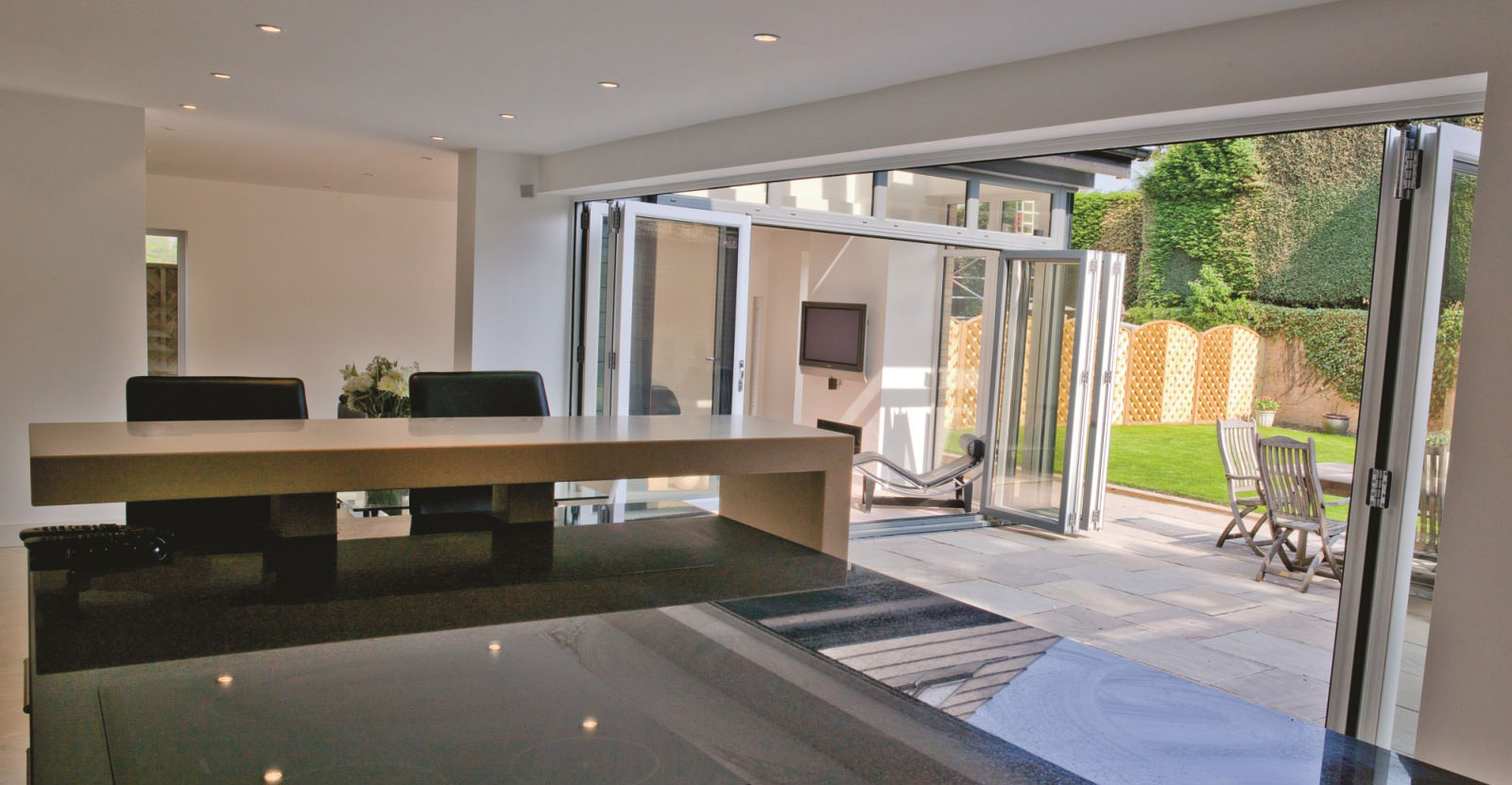 upvc-Bi-Folding doors Woking surrey