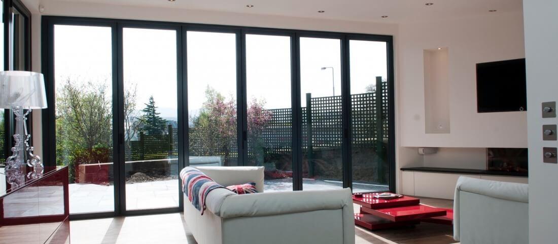 aluminium bi-fold doors camberley