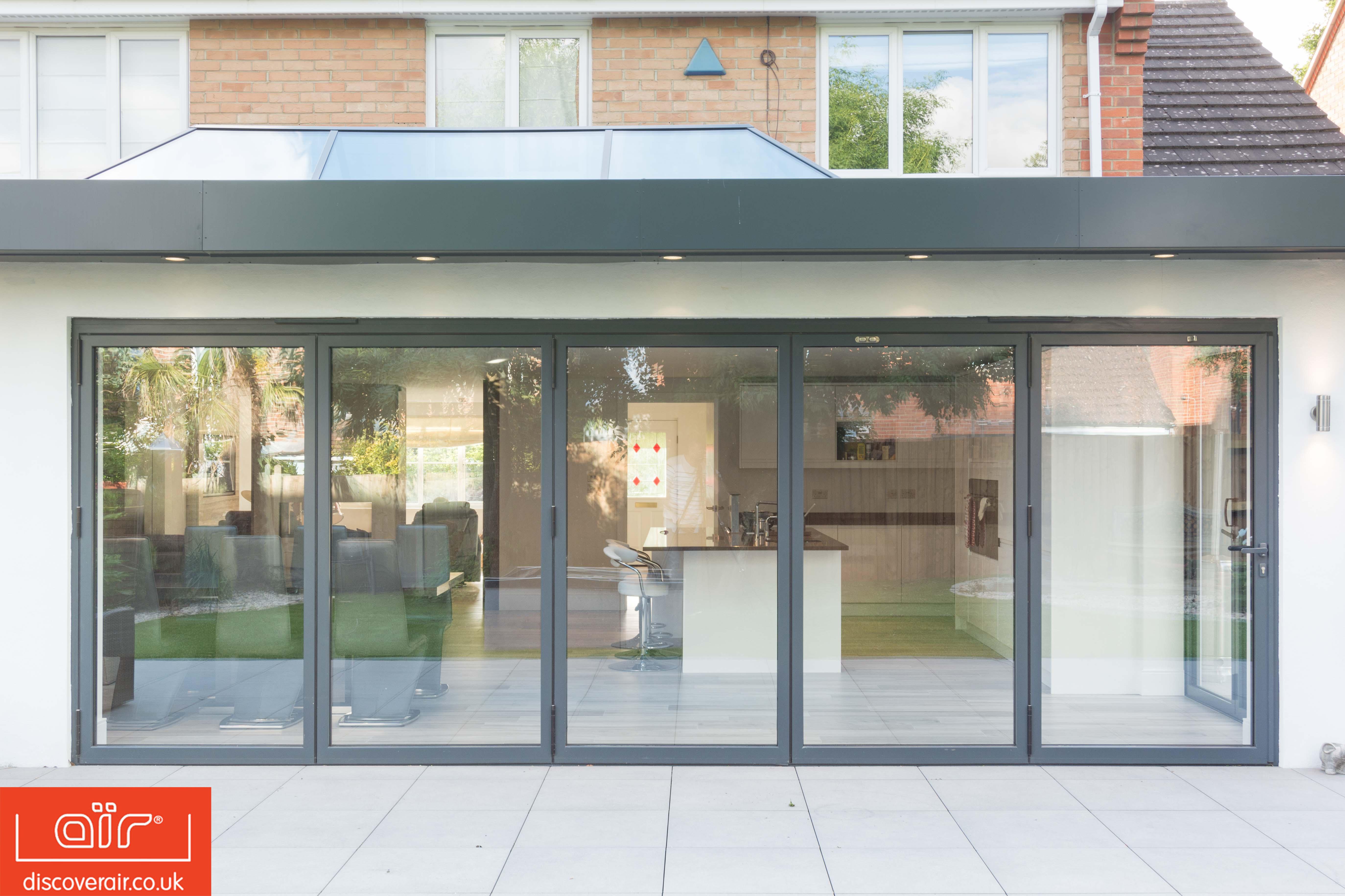 Aluminium Bi-Fold Doors Surbiton